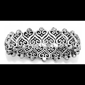 Brighton Alcazar Heart Stretch Bracelet